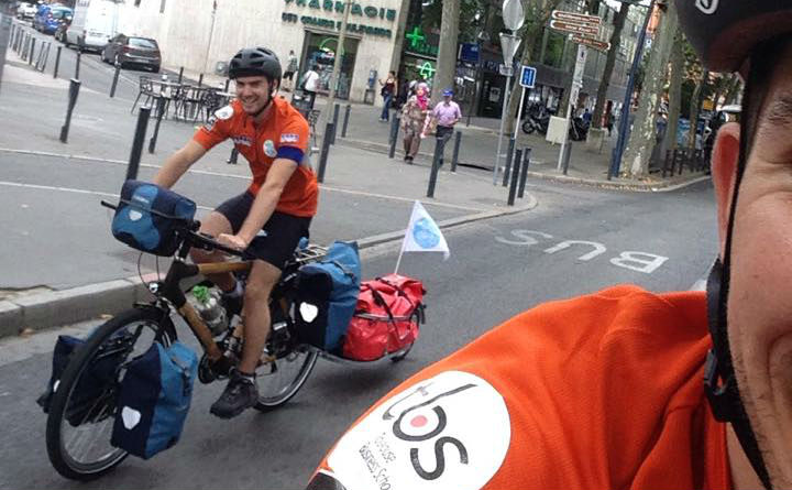 Around the World - Cycle for Water - August 2015