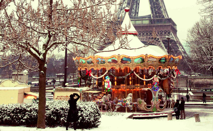 Paris - Weihnachten - November 2015