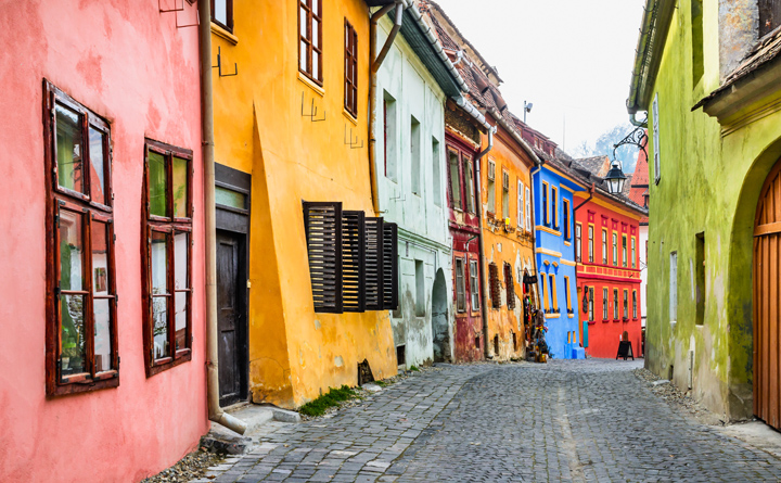 (Culinary) Discoveries: Transylvania - village Sighisoara