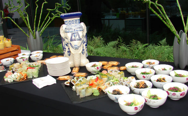 Asian coffee break at angelo by Vienna House Prague