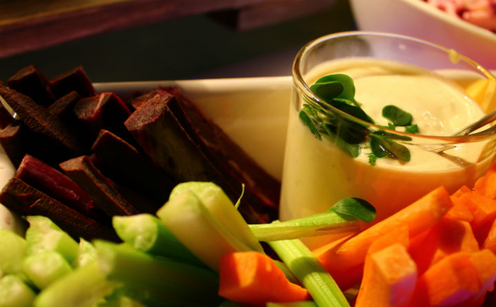 Healthy Tapas at angelo by Vienna House Prague