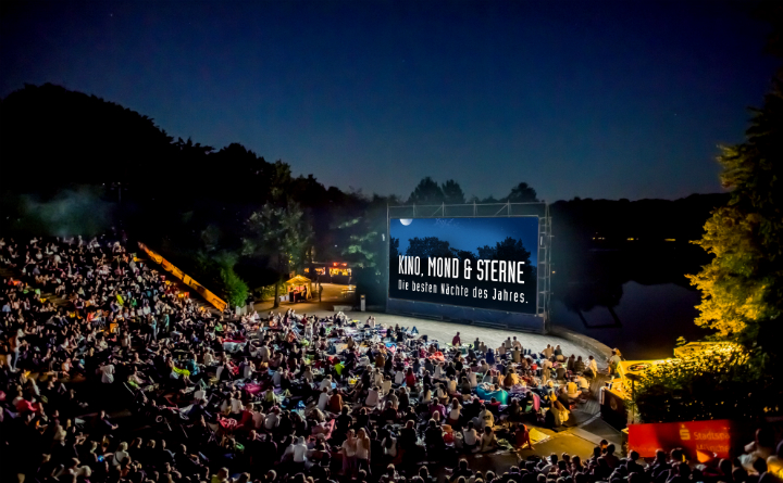 Open-air Cinema - July 2017 - Kino, Mond und Sterne
