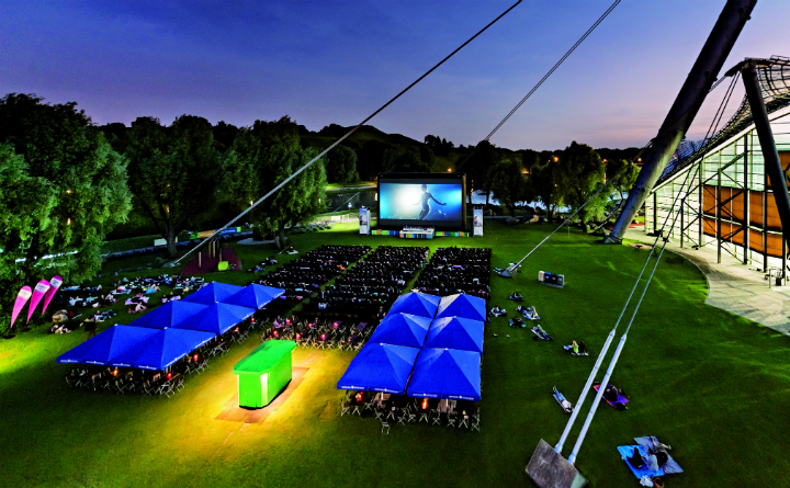 Open-air Cinema - July 2017 - Olympiapark