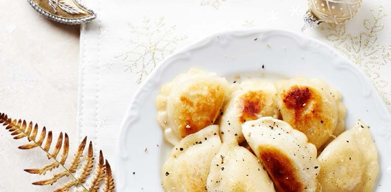 Christmas Polands - December 2017 - pierogi
