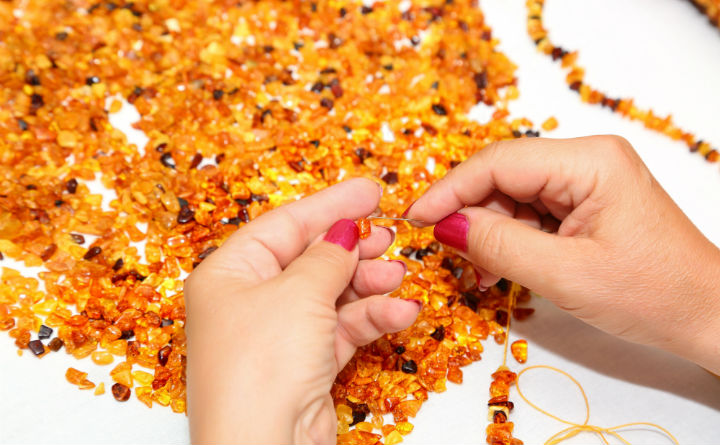 Amber, jewellery, Poland, shopping, Cracow