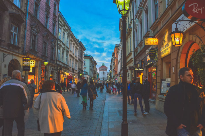 Cracow, street, Old Town