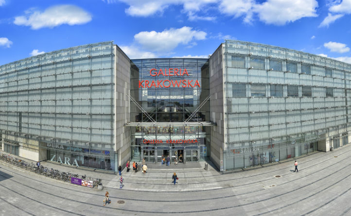 Cracow, shopping mall, shopping