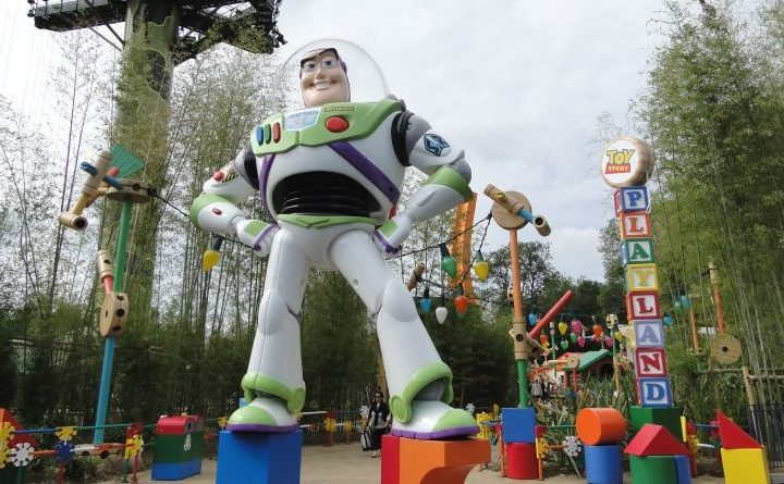 Toy Story Playland - World of Disneyland