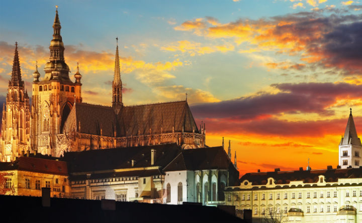 CZ - Prague Castle - 100 anniversary